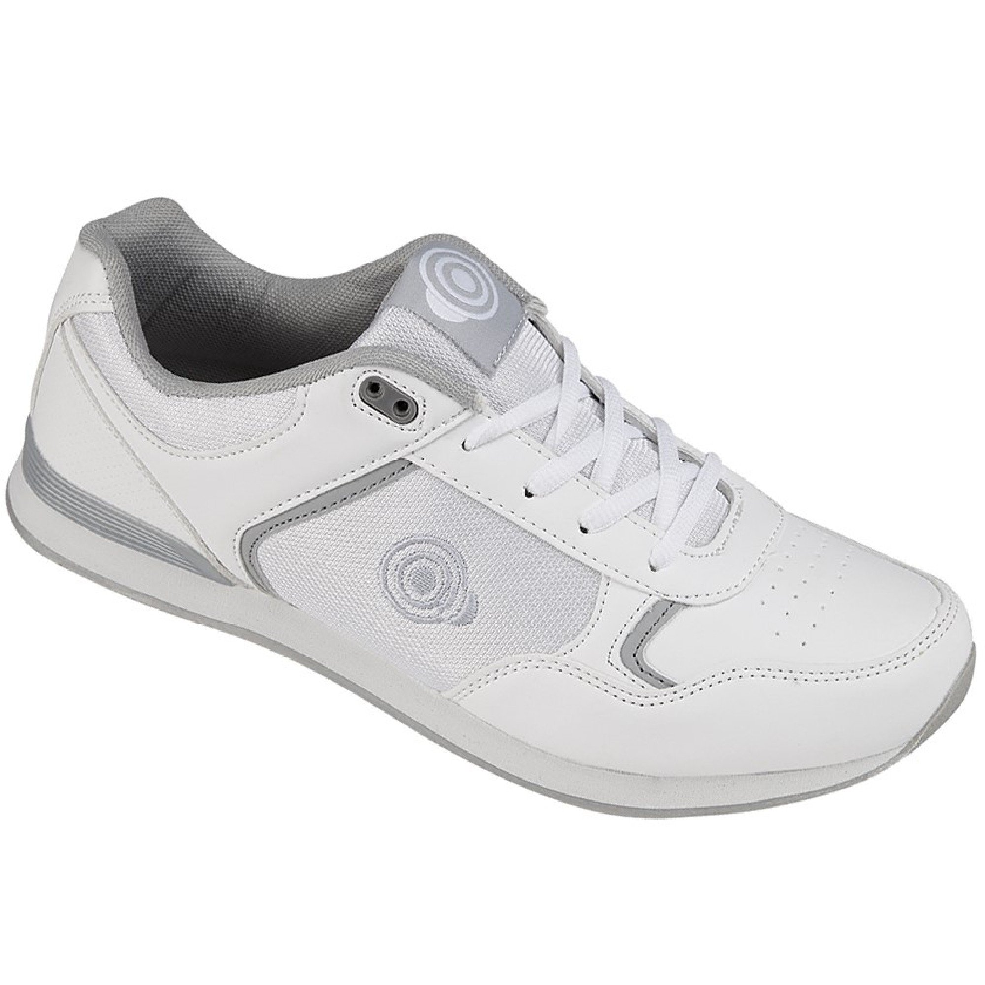 Dek Mens Geometric Bowling Trainers (13 US) (White) by Dek