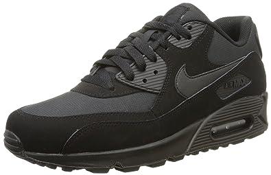Nike Air Max 90 Essential, Bottes Classiques homme, Noir (Black/Black)