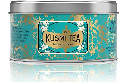 Kusmi tea imperial label 4.4 oz.