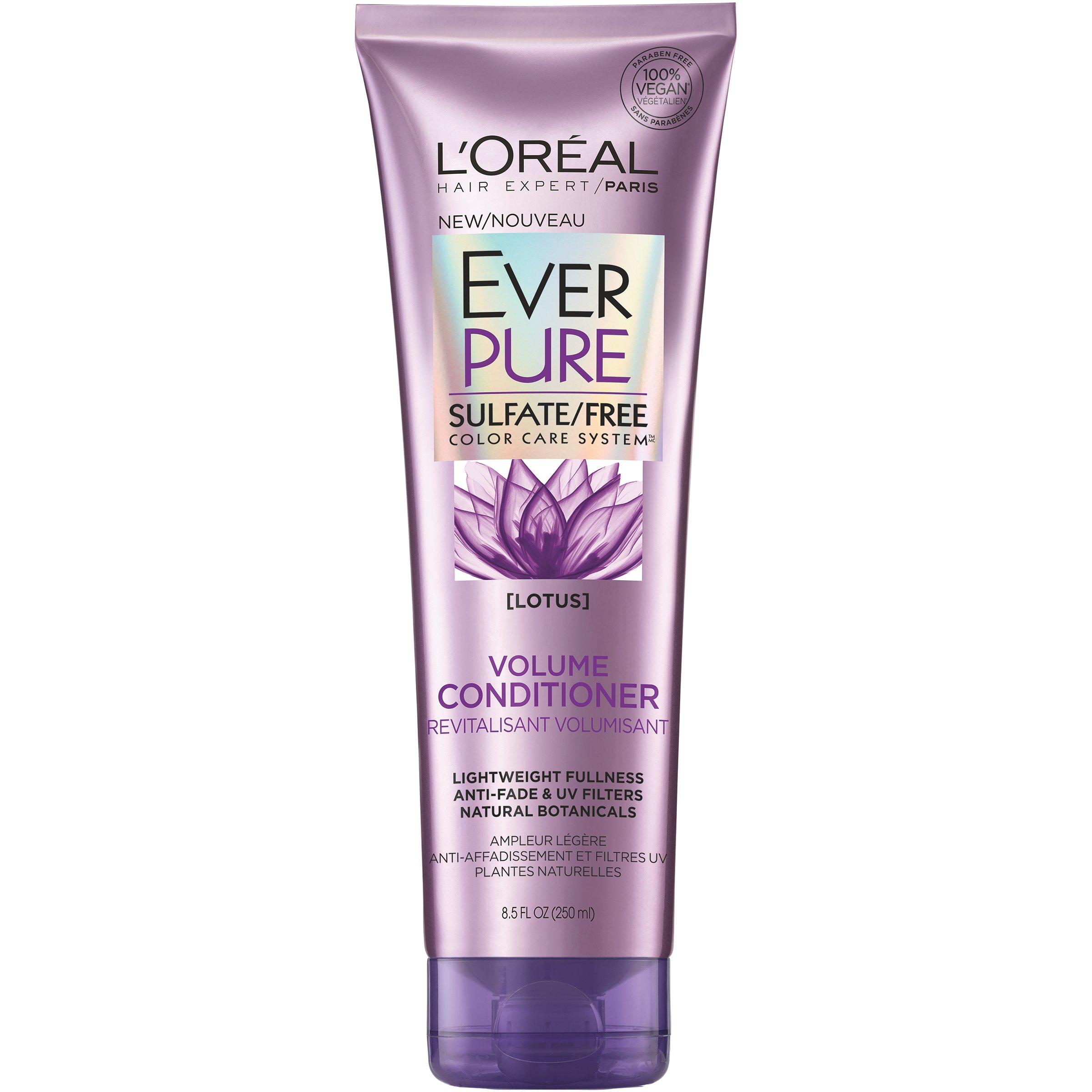 L'Oréal Paris EverPure Sulfate Free Volume Conditioner, 8.5 fl. oz.