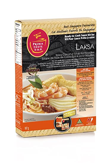 PRIMA gusto listo para cocinar la salsa Kit para lak?a