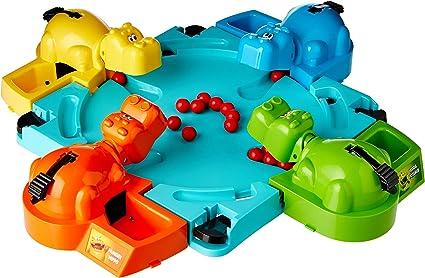 Hasbro Gaming - Tragabolas, juego de mesa (versión en inglés): Hungry Hippos: Amazon.es: Juguetes y juegos