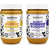 Bark Bistro Company, Superberry Snoot + Barkin' Banana, 100% Natural Dog Peanut Butter, Healthy Dog Treats - Made in USA (Set