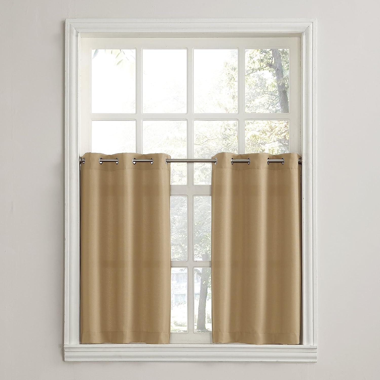 56 x 14 Valance 918 Montego Kitchen Curtains White No