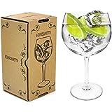 Arcoroc Juniper Thin Stemmed 'Copa de Balon' Gin Glass - 670ml Gin & Tonic / Wine Balloon Glass / Cocktail