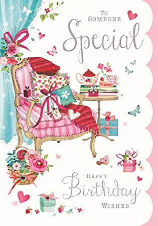 To Someone Special Happy Birthday Wishes Karte