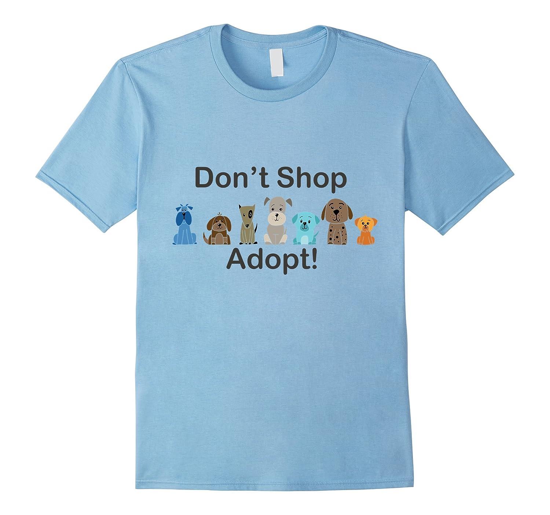 ChatterHat Tees Adopt Dont Shop-Vaci