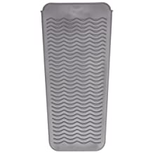 OXO Good Grips Heat Resistant Silicone Travel Pouch for Curling Irons and Flat Irons, Gray