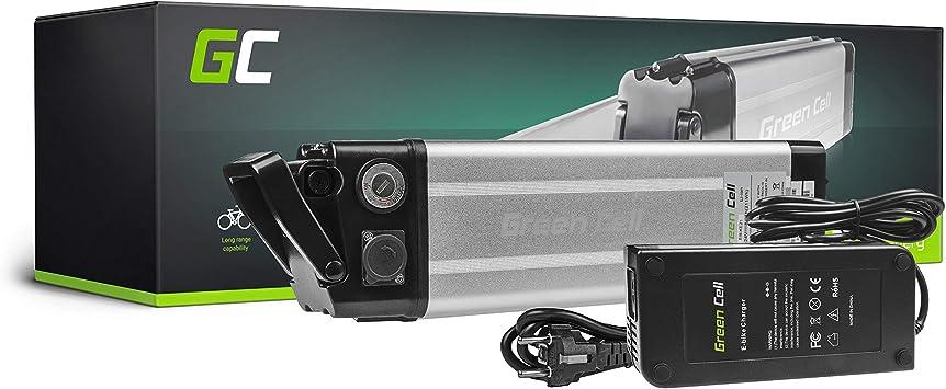 GC® Bateria Bicicleta Electrica 24V 8.8Ah con Celdas Originales Silverfish Li-Ion Batería y Cargador: Amazon.es: Electrónica