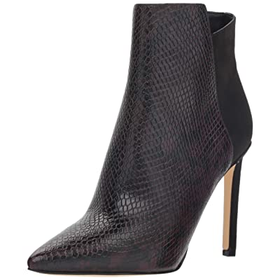 NINE WEST Women's Tomorrow Reptile Print Ankle Boot   Ankle & Bootie