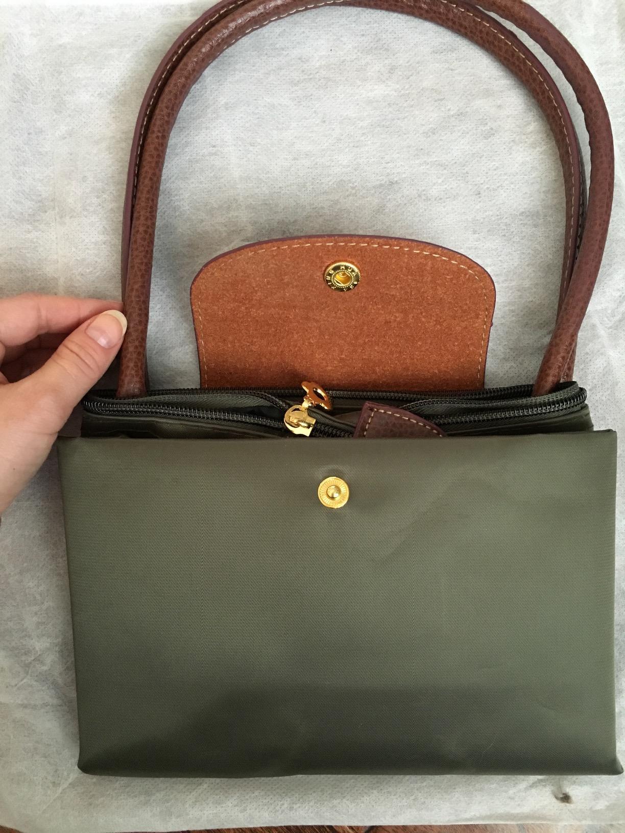0375ab755ce3 longchamp makeup bag olive green longchamp bag longchamp le pliage ...