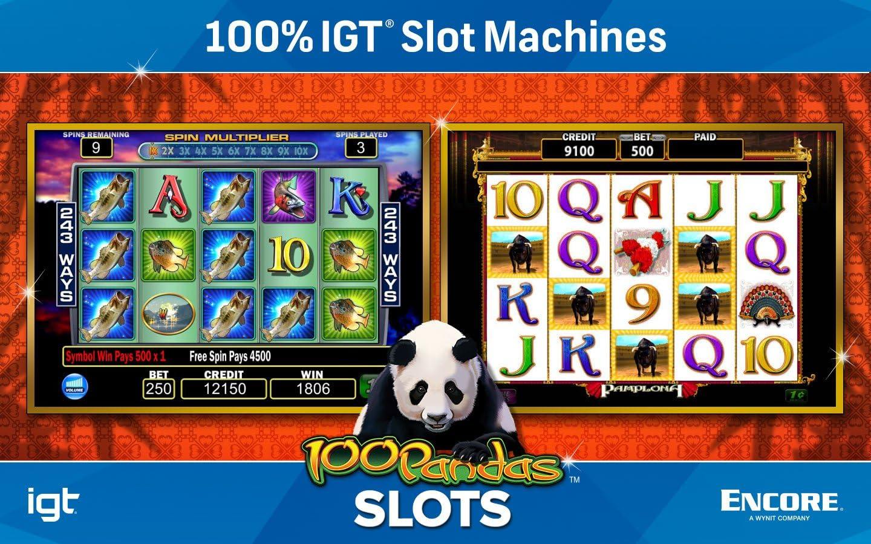 Amazon Com Encore Igt Slots 100 Pandas Software