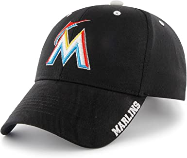 special section official shop best supplier MLB Miami Marlins 47 Brand Adjustable Frost MVP Hat, Black, One ...