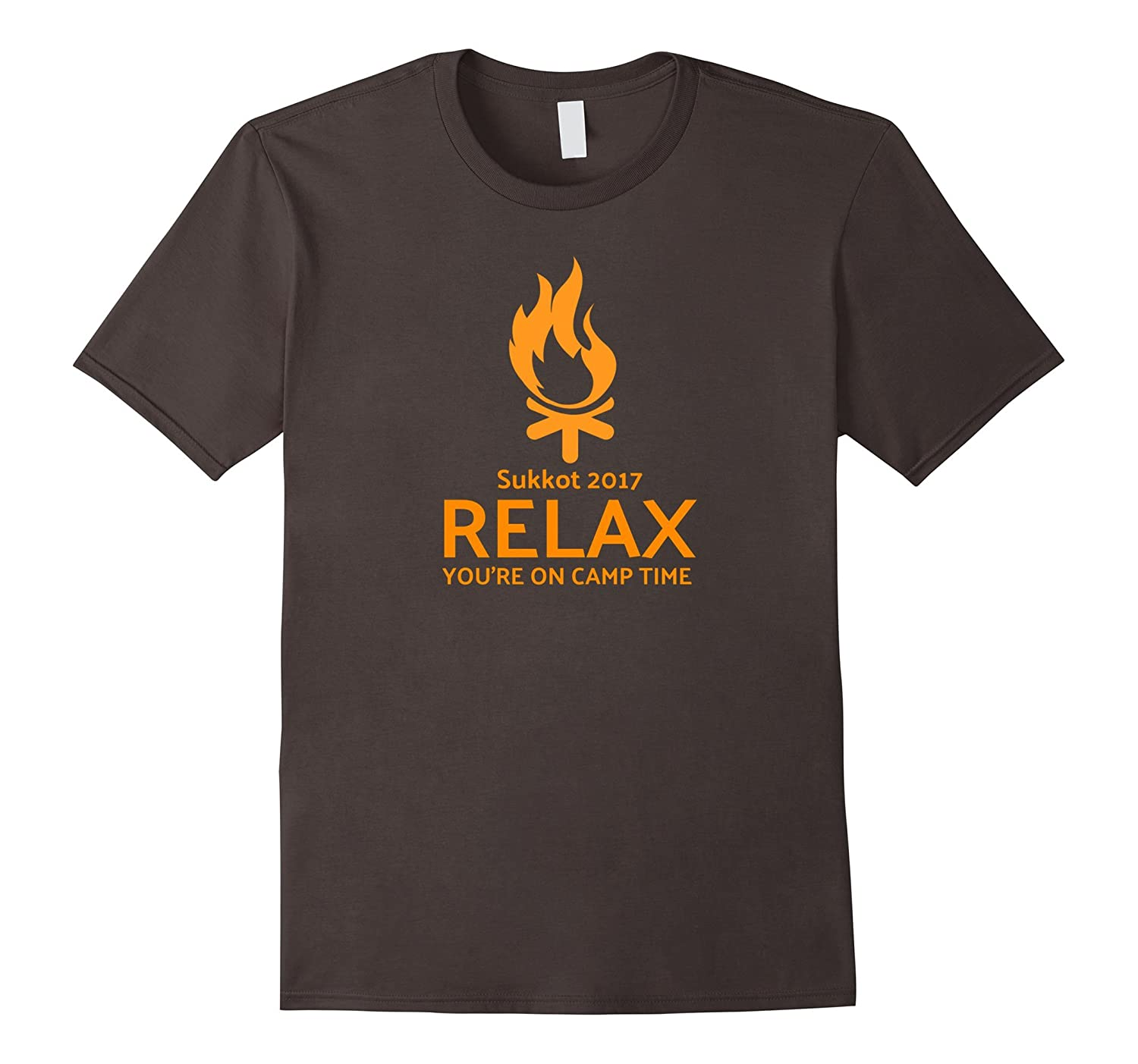 Sukkot 2017 Relax You're on Camp Time T-shirt-T-Shirt