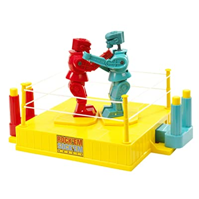 35TH Anniversary Rock 'em Sock 'em Robots Game (Discontinued by manufacturer): Toys & Games