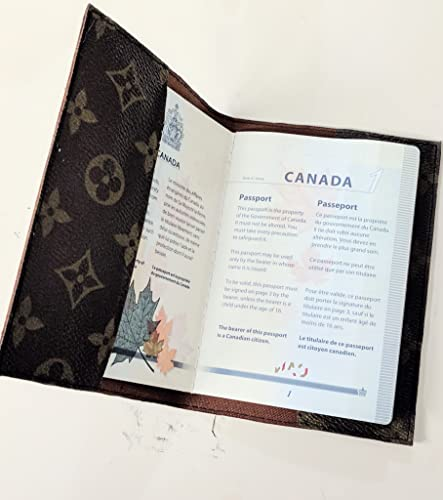 80d5142315e Handcrafted upcycled and repurposed passport cover from authentic Louis  Vuitton monogram bag canvas - Please read item description before you buy   ...
