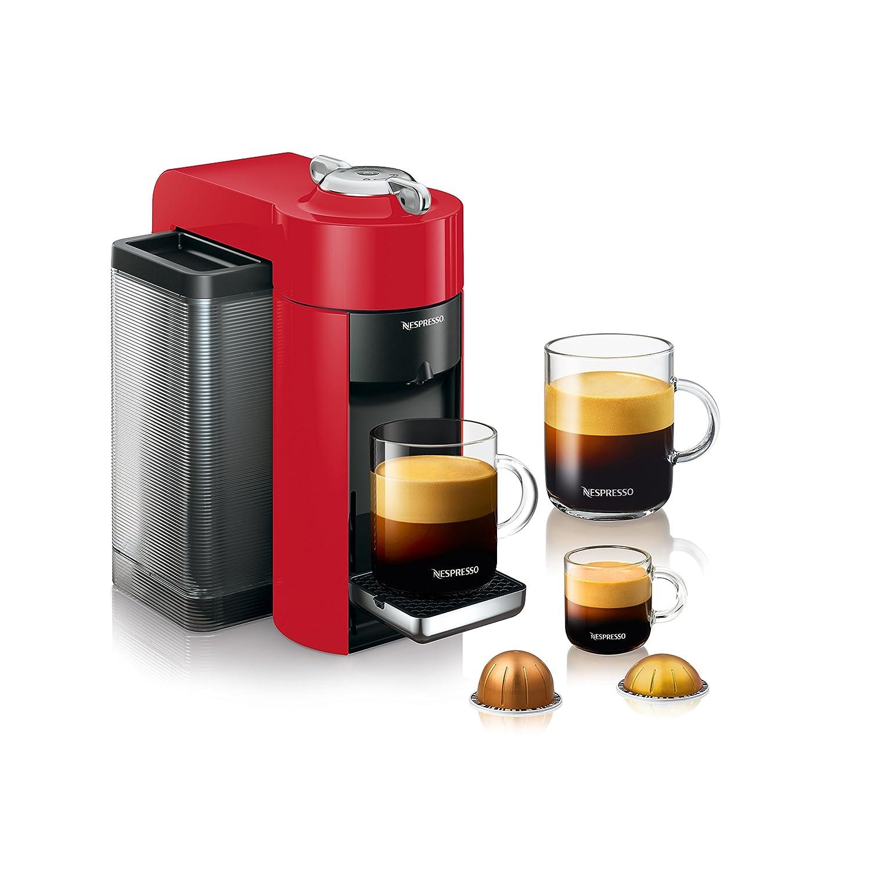 Nespresso A+GCC1-US-BK-NE VertuoLine Evoluo Deluxe cafetera y ...
