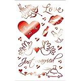 Susy Card Sticker Hochzeit 1.6 1 Bogen selbstklebend, Cellophaniert, Flachkopf