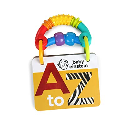 Baby Einstein A-to-Z Curiosity Cards Flash Cards, Newborn + : Baby