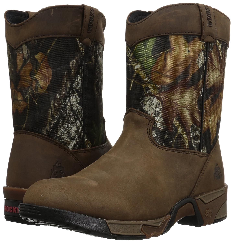 Rocky ' FQ0003639 Mid Calf Boot B0052OSX76 1 M US Little Kid Mossy Oak Break Up Infinity Camouflage