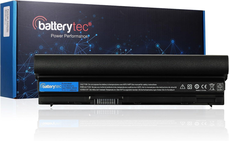 Batterytec Laptop Battery for DELL Latitude E6220 E6230 E6320 E6330 E6430s. HGKH0 HJ474 J79X4 F33MF FHHVX FN3PT WJ383 WRP9M X57F1.