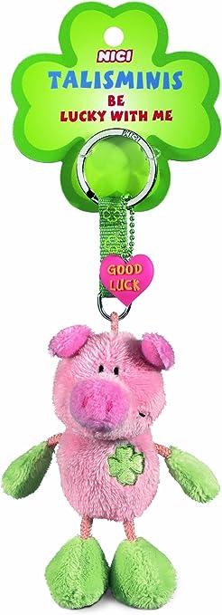 Nici Talisminis Schlüsselanhänger Schwein 7cm Pink Plüsch Spielzeug
