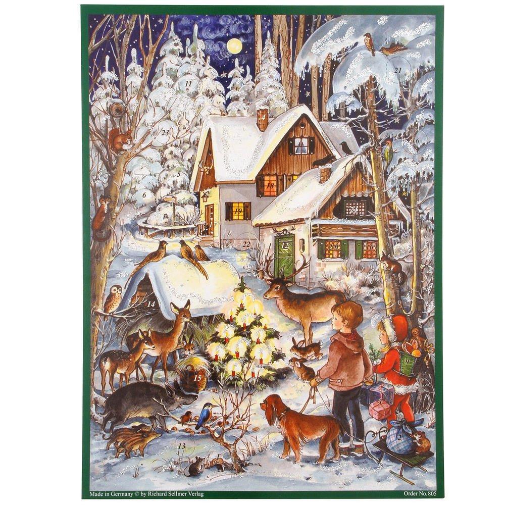 Adventskalender Waldweihnacht Sellmer 805