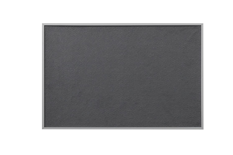 Bi-Office New Basic color gris Tablero de fieltro 585 x 385 mm