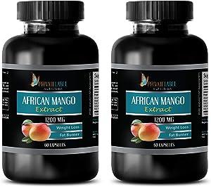 antioxidant Pills for Women and Men - African Mango Extract 1200 MG - Weight Loss, Fat Burner, antioxidant - Green Tea resveratrol Apple Cider Vinegar Pills - 2B (120 Capsules)