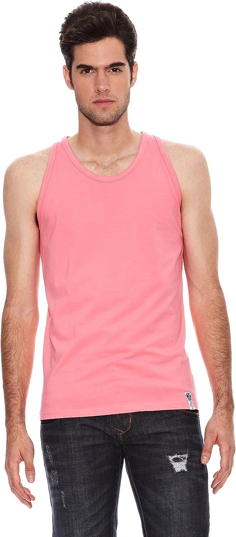 SIX VALVES Camiseta Rosa L: Amazon.es: Ropa y accesorios