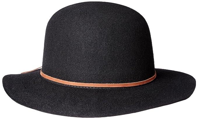 cf9b3dfb09d San Diego Hat Co. Men s Round Crown Wool Felt Hat