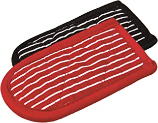 product image for Lodge Striped Hot Handle Holders/Mitts, Set of 2