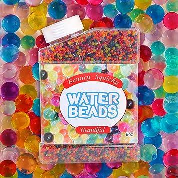 27b0ab727 Opret Bolas de Gel de 10 Colores Más de 9 Oz, 50000 Perlas de Hidrogel  Perlas de Agua para Decoración de Boda y Muebles Plantas Pistolas:  Amazon.es: Jardín