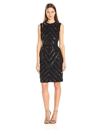 RACHEL Rachel Roy Women s Embellished Shift Dress at Amazon Women s ... c602e9a13