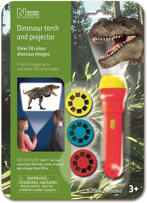 Natural History Museum Dinosaur Flashlight and Projector STEM