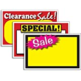 amazon com retail special signs template 5 5 x3 5 blank sale