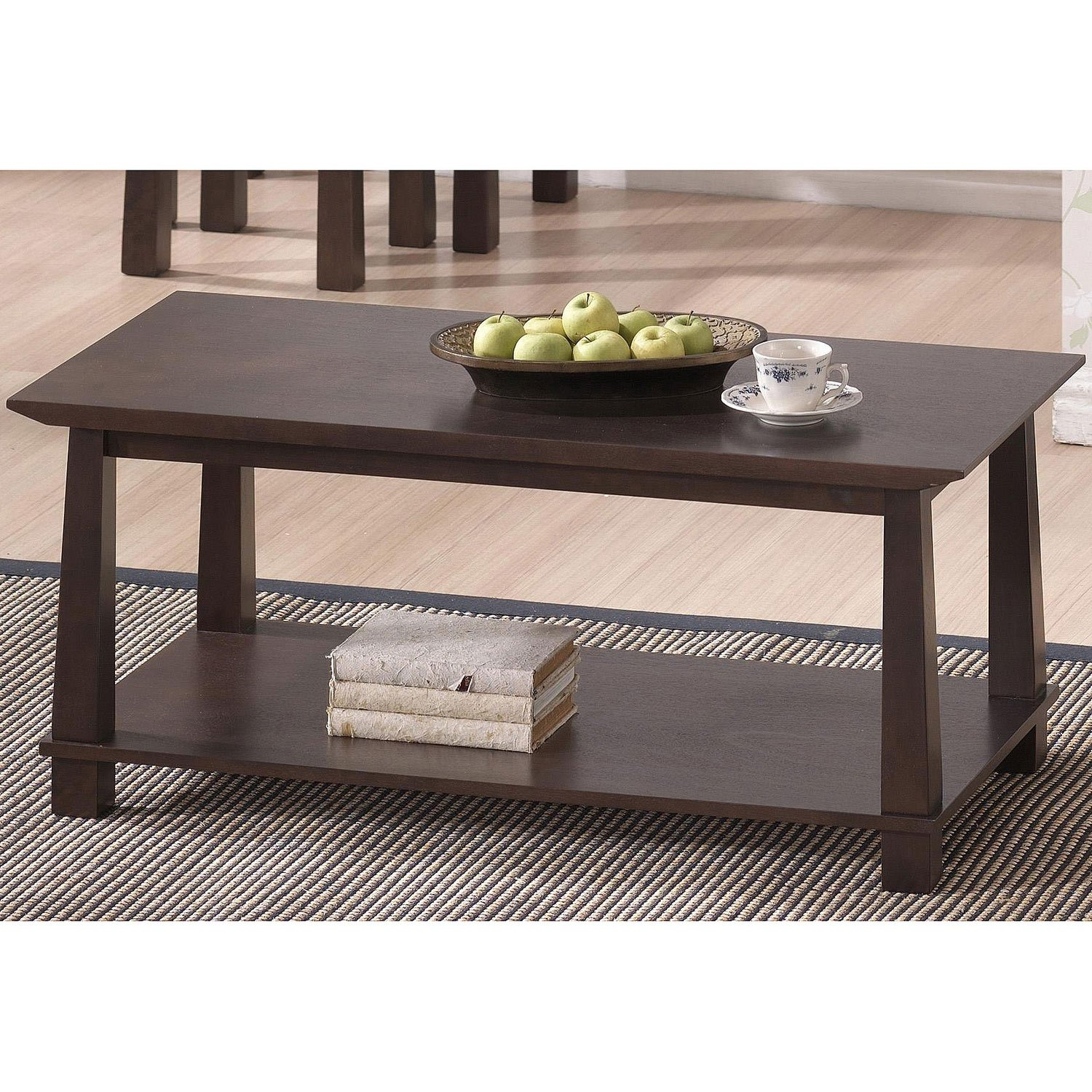 Amazon Baxton Studio Havana Wood Modern Coffee Table Brown