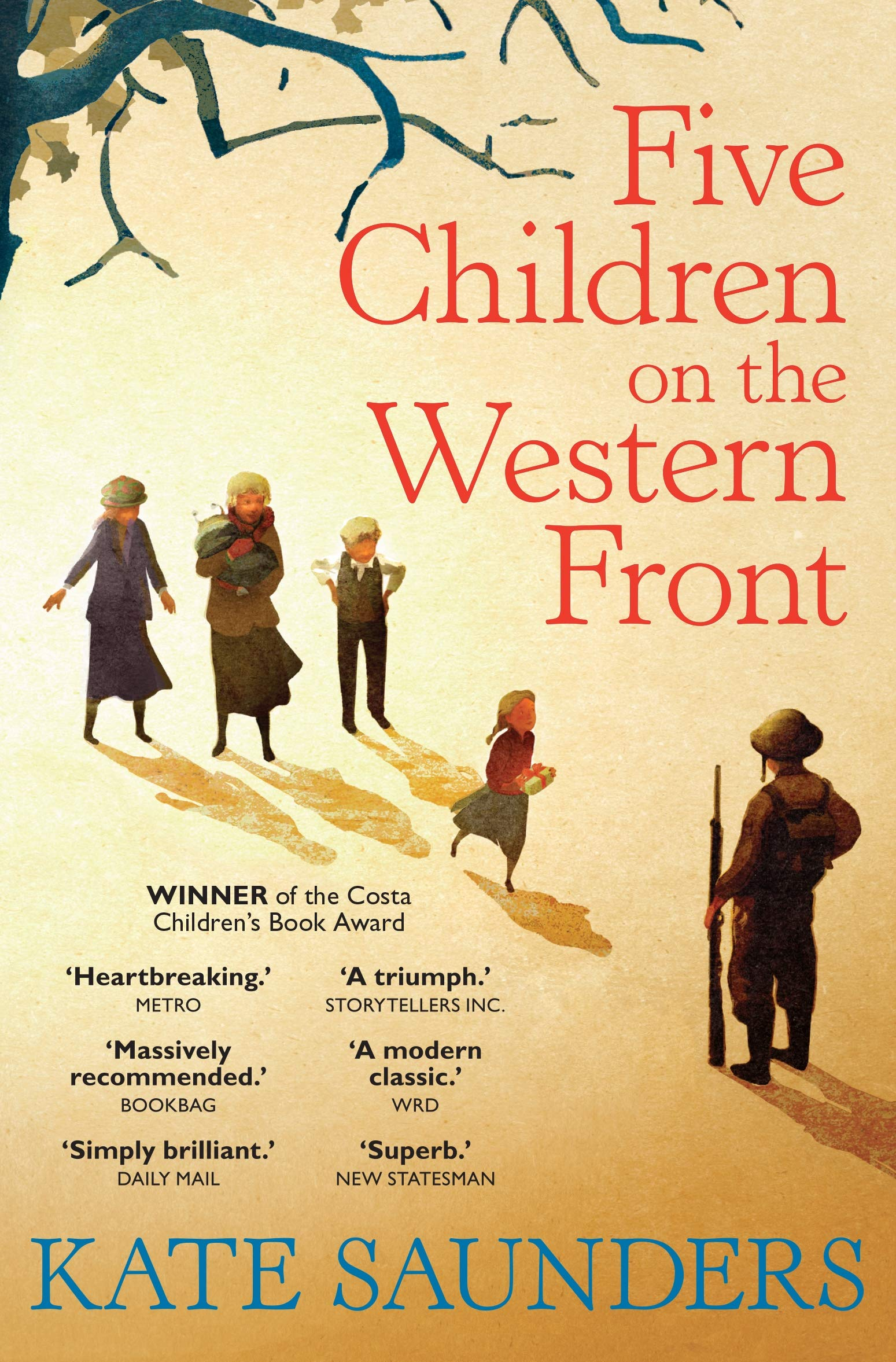 Five Children on the Western Front: Amazon.co.uk: Kate Saunders: Books