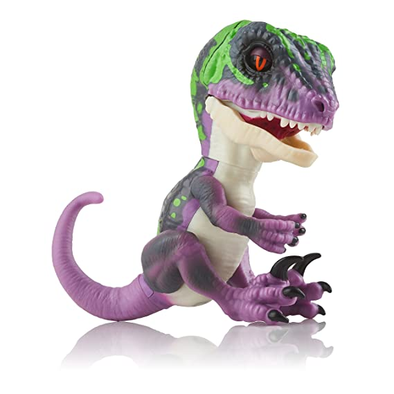 Wow Wee Razor Fingerlings Velociraptor, Color Morado (3784)