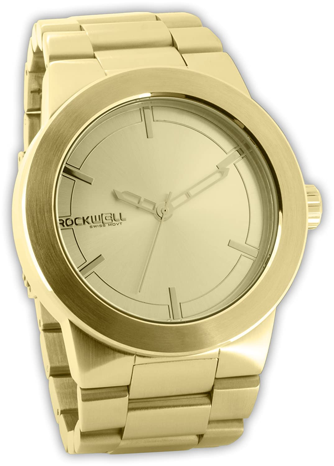 Rockwell The Maverick Gold - Gold MAV105 Herrenarmbanduhr