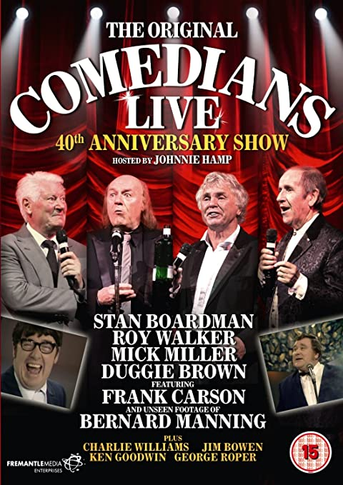 The Comedians Live - 40th Anniversary Show [DVD]: Amazon co