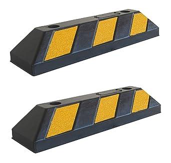 RWS-4x2 Tope para rueda de goma para estacionar en estacionamientos comerciales y domésticos y