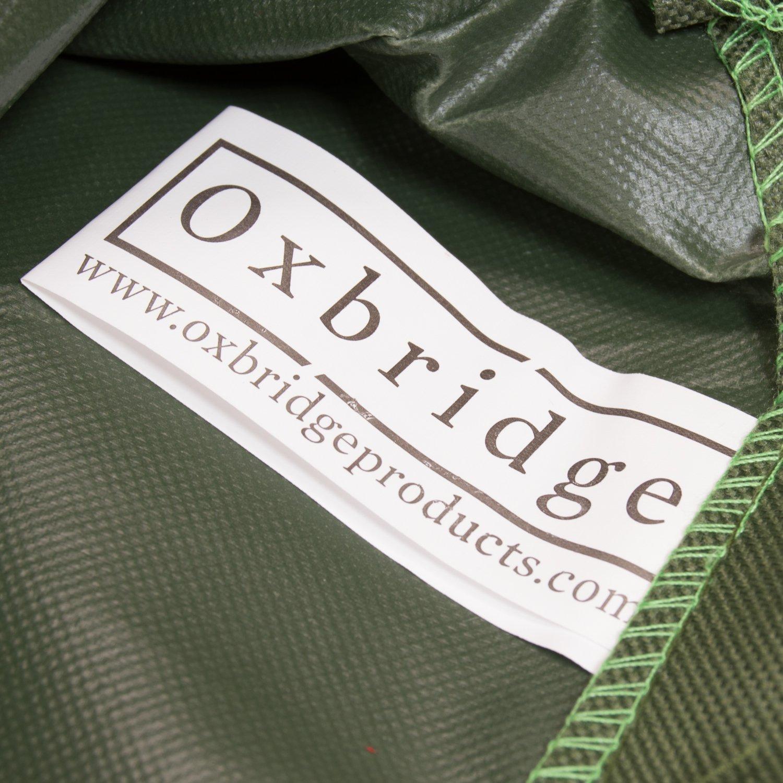 Oxbridge Green 3 Seater Outdoor Garden Bench Cover 1.64m x 0.68m x 0.66-0.91m//5.3ft x 2.25ft x 2.2-3ft 5 YEAR GUARANTEE