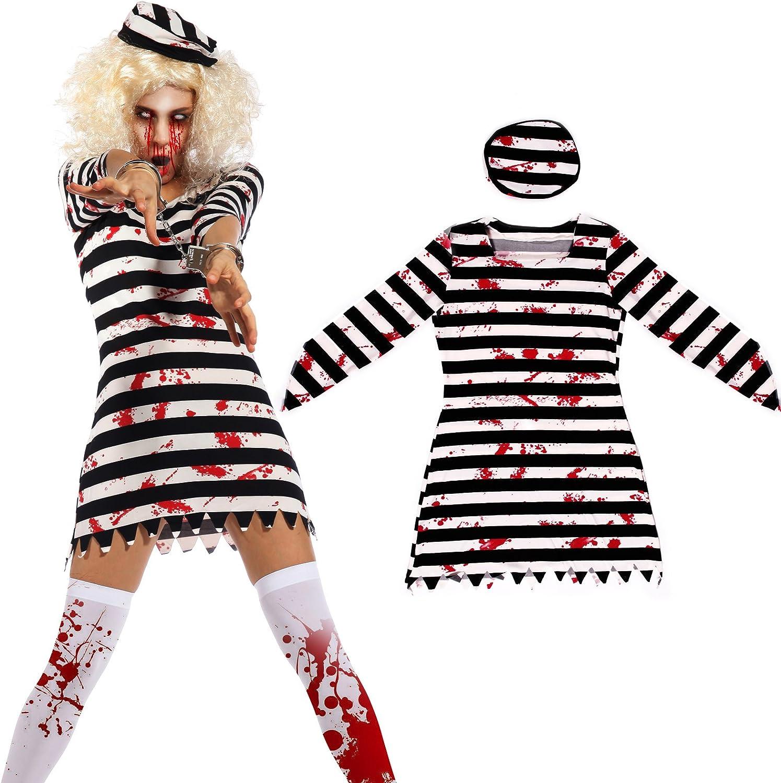 Maboobie - Disfraz de presa zombie para Mujer adulto Talla M (40 ...