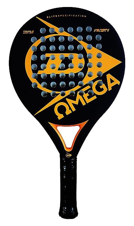 Dunlop OMEGA - Pala de pádel 38mm, 2017, nivel iniciación, color naranja
