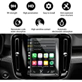 YEE PIN Volvo XC40 Screen Protector for 2018 2019 2020 Volvo XC40 Sensus Center Control Touch Screen, Glass Protective Film Anti-Scratch HD (8.7-inch Clear)