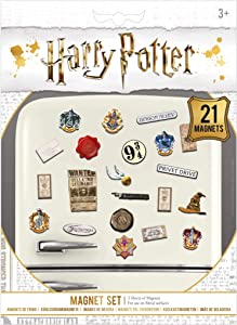Wizarding World Magnets, Multi-Colour, 18 x 24cm
