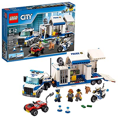 City Police Mobile Command Center 60139 Building Toy: Home Improvement