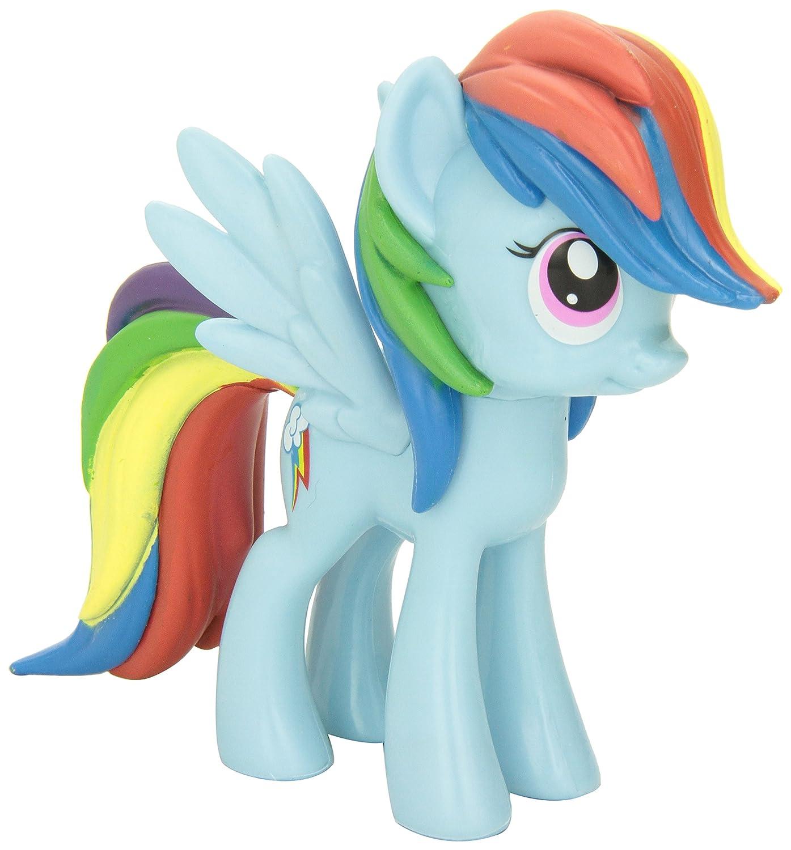 a040f6a6299 Amazon.com  Funko My Little Pony  Rainbow Dash Vinyl Figure  Funko Vinyl  Collectible   Toys   Games
