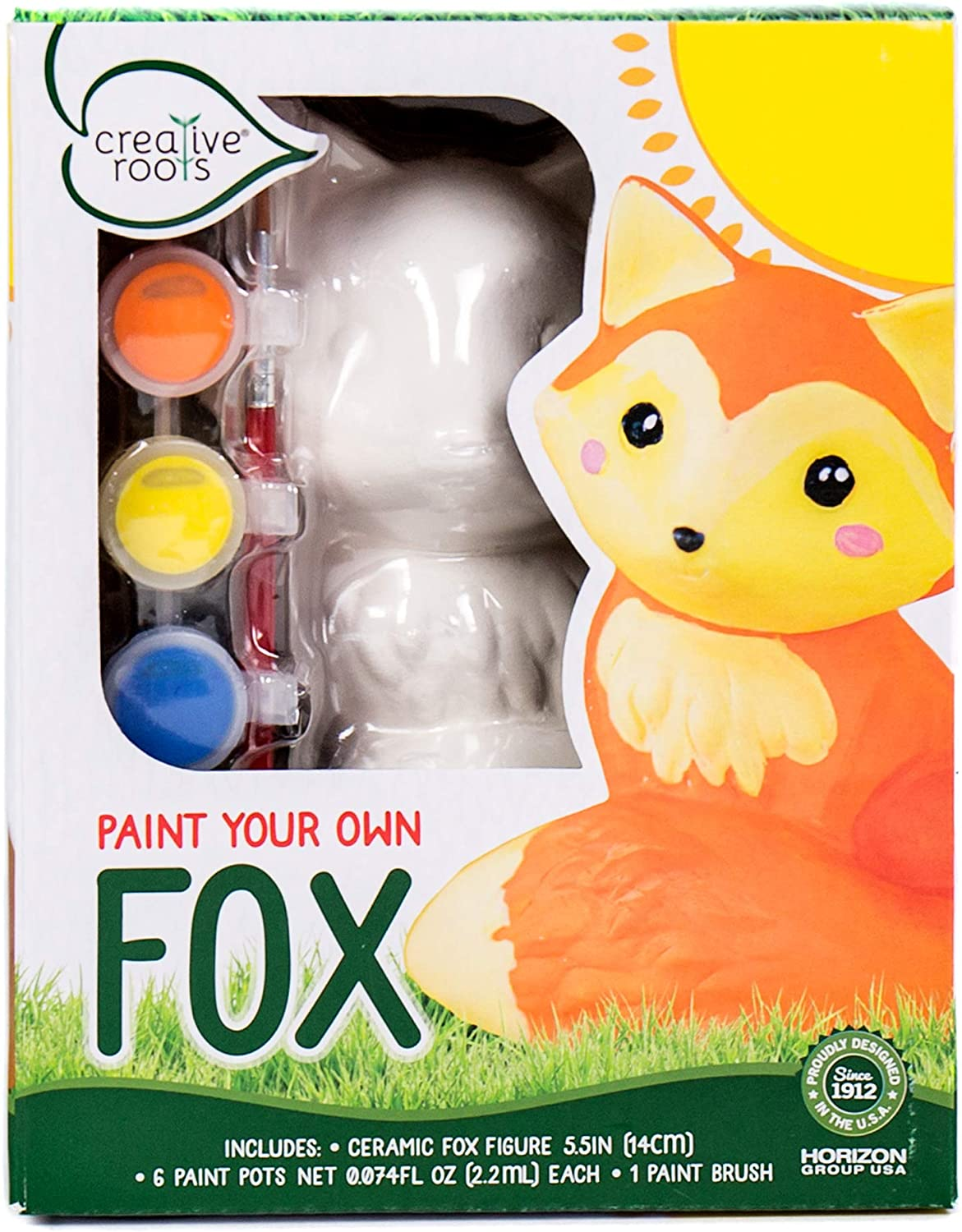 L.O.L. Surprise! Creative Roots Paint Your Own Fox by Horizon Group USA, 98629, Multi